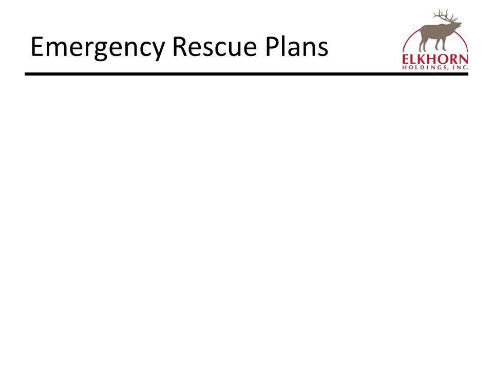 Emergency Rescue Plans