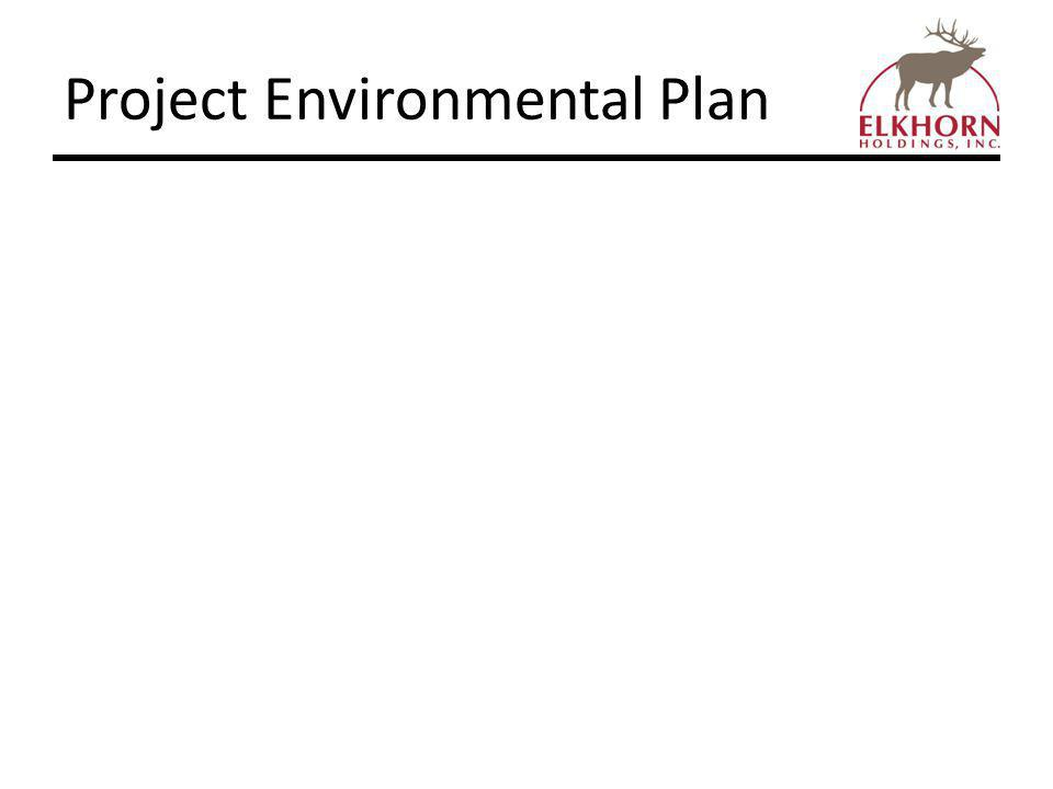 Project Environmental Plan