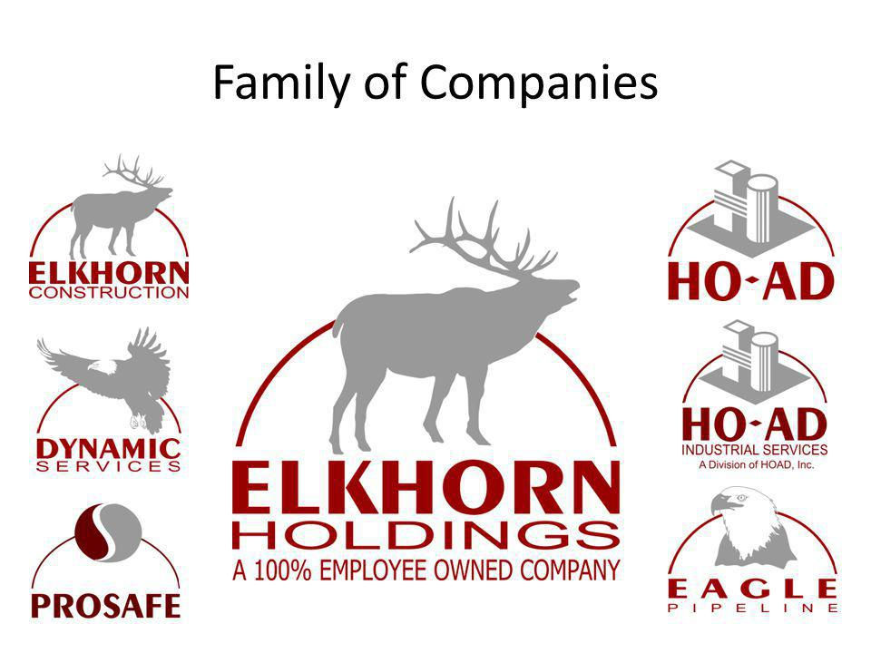 Journey to Zero Zero Incidents, Zero Injuries Elkhorns strives to ensure that our safety culture includes: Individual Commitment to eliminating injuries, incidents, environmental impacts and errors/omissions.
