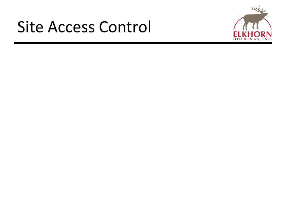 Site Access Control
