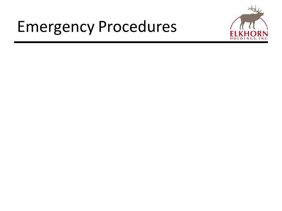 Incident and Injury Reporting