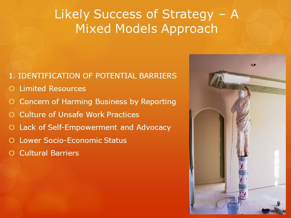 Likely Success of Strategy – A Mixed Models Approach 1.