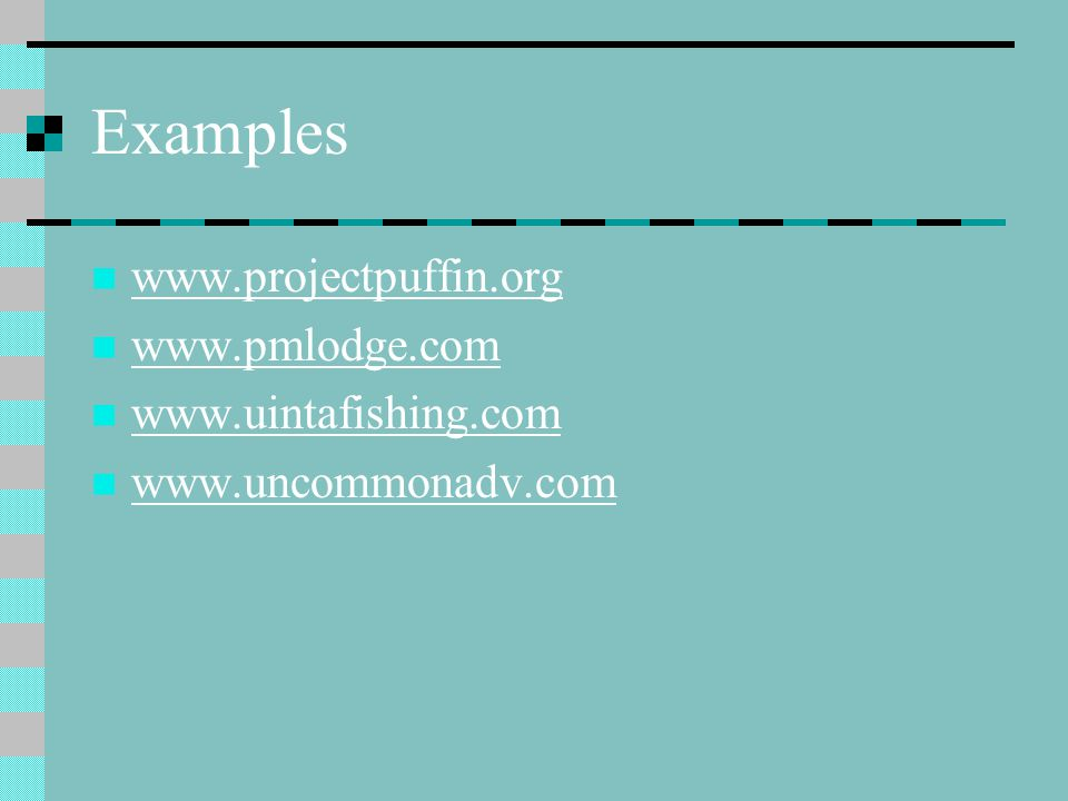 Web Page Layout Layout of web pages is very important Poor layout makes for - Difficult navigation Hard to locate information on page Visually unappealing