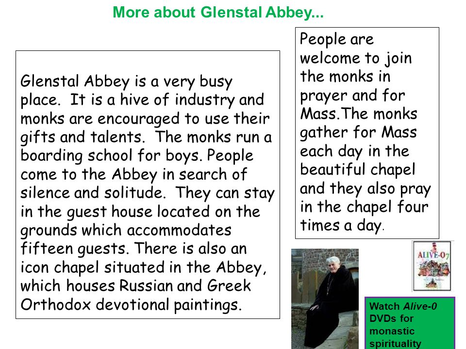 Glenstal Abbey is a very busy place.