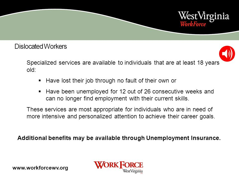 Individuals with Disabilities Individuals interested in vocational rehabilitation services may call, write or visit any West Virginia Division of Reha