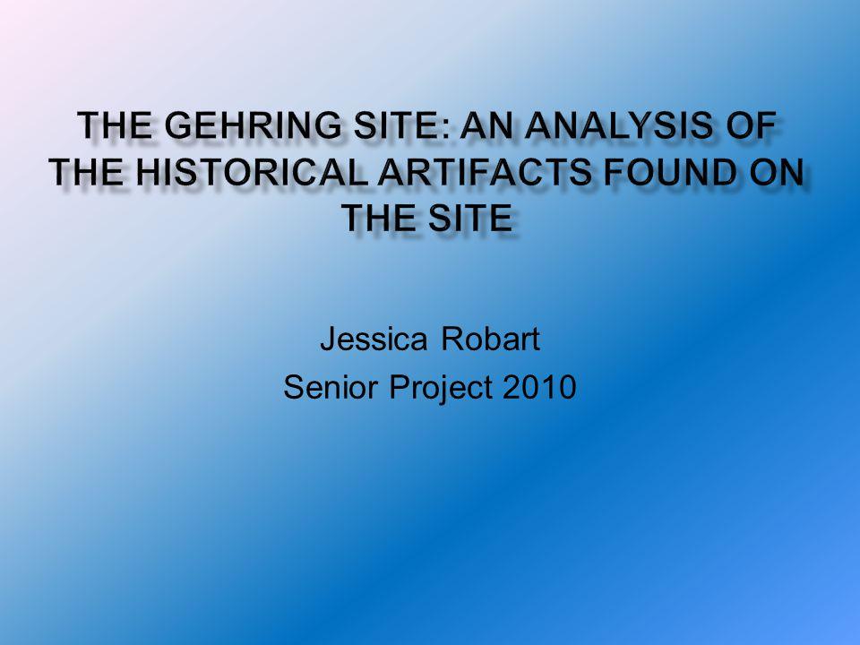 Jessica Robart Senior Project 2010