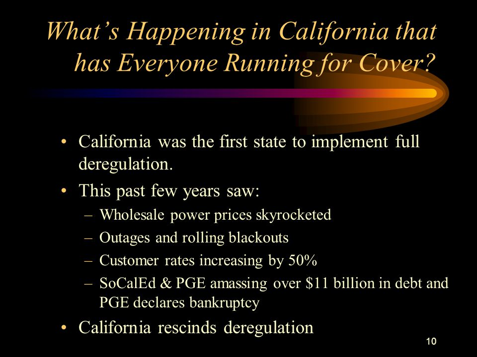 10 Whats Happening in California that has Everyone Running for Cover.
