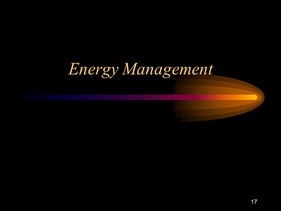 17 Energy Management