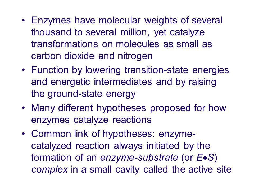 Alternative to Low-Barrier Hydrogen Bond Scheme 1.15 Electrostatic enzyme catalysis in enolization