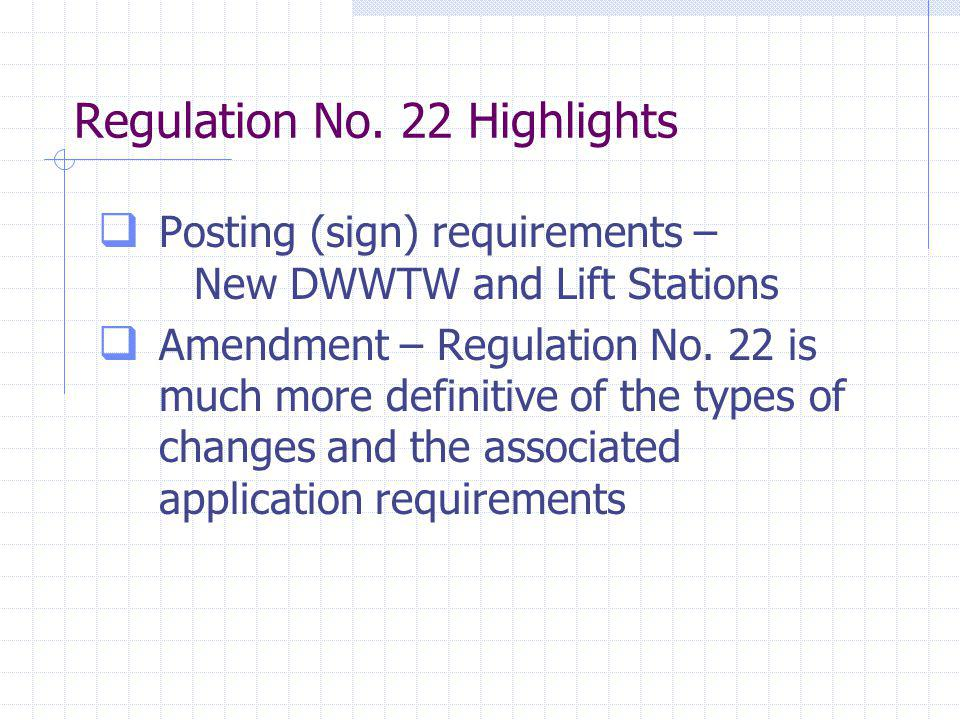 Regulation No.