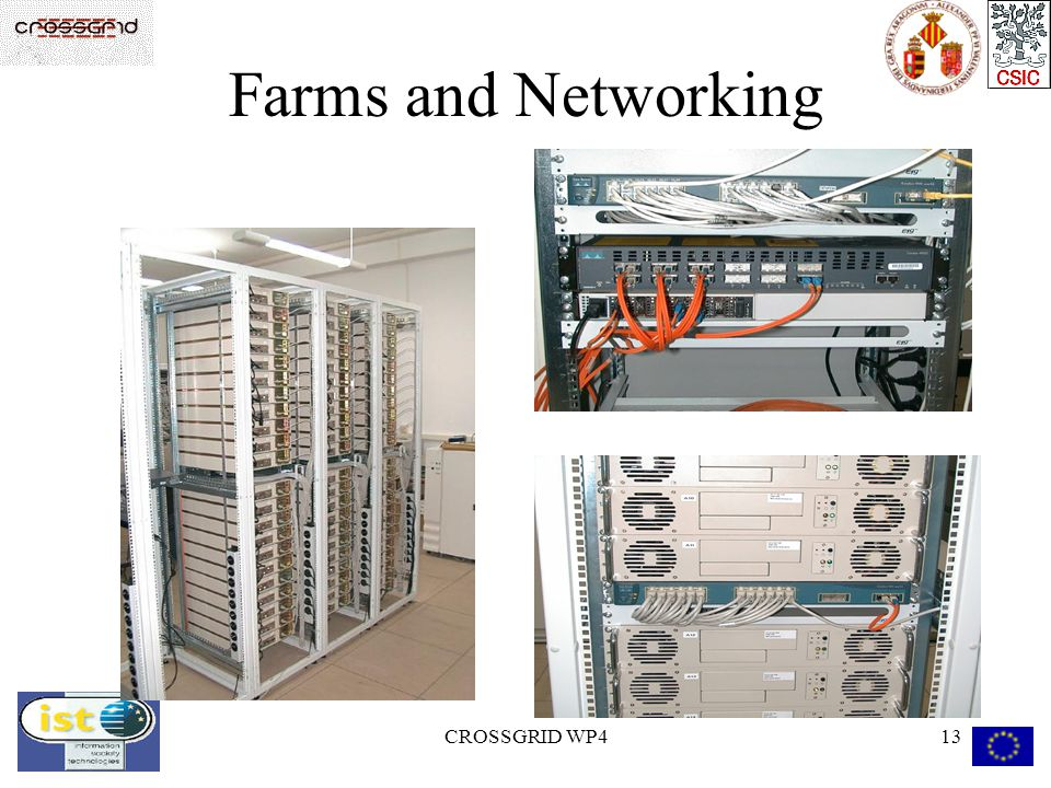 CROSSGRID WP413 Farms and Networking