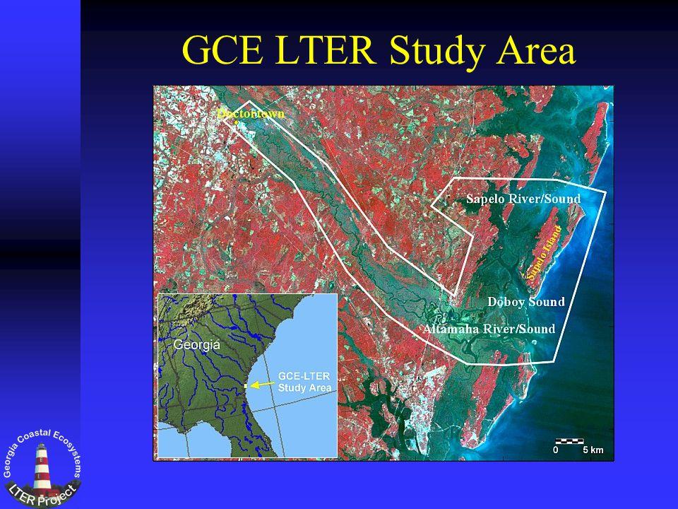GCE LTER Study Area