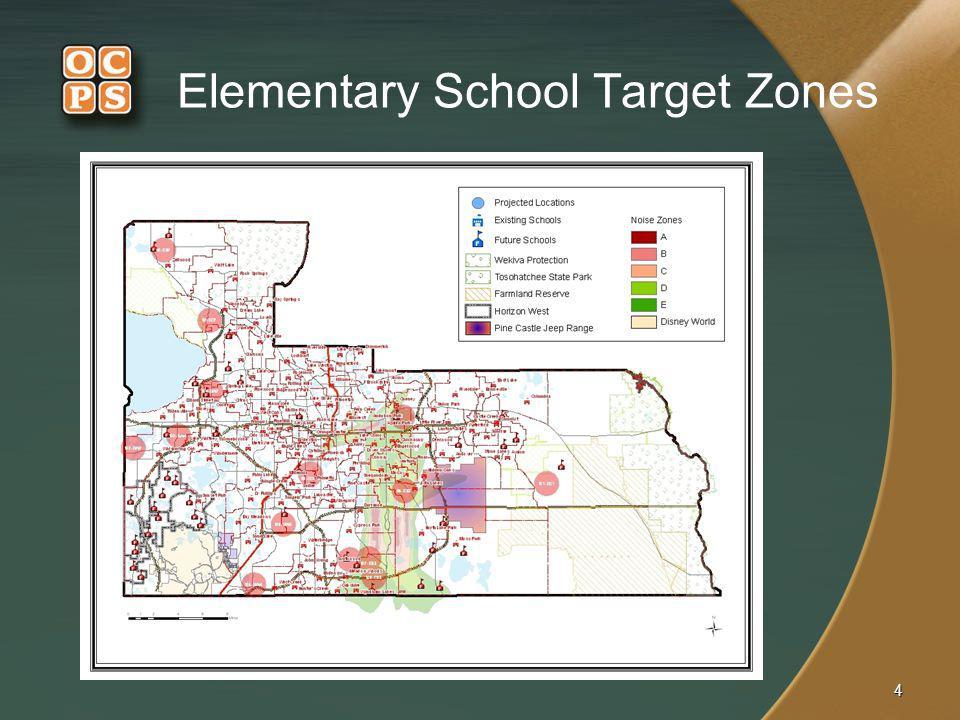 4 Elementary School Target Zones
