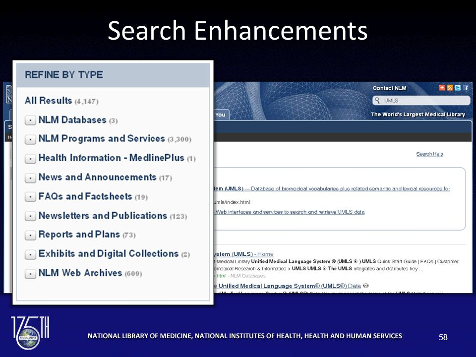 Search Enhancements 58