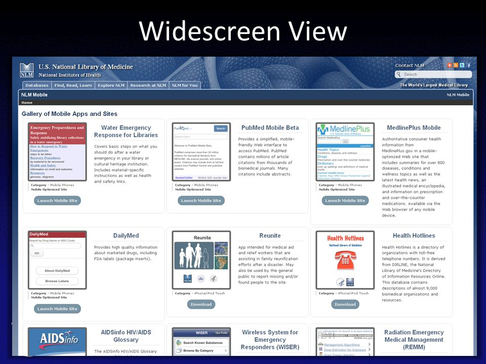 Widescreen View 62