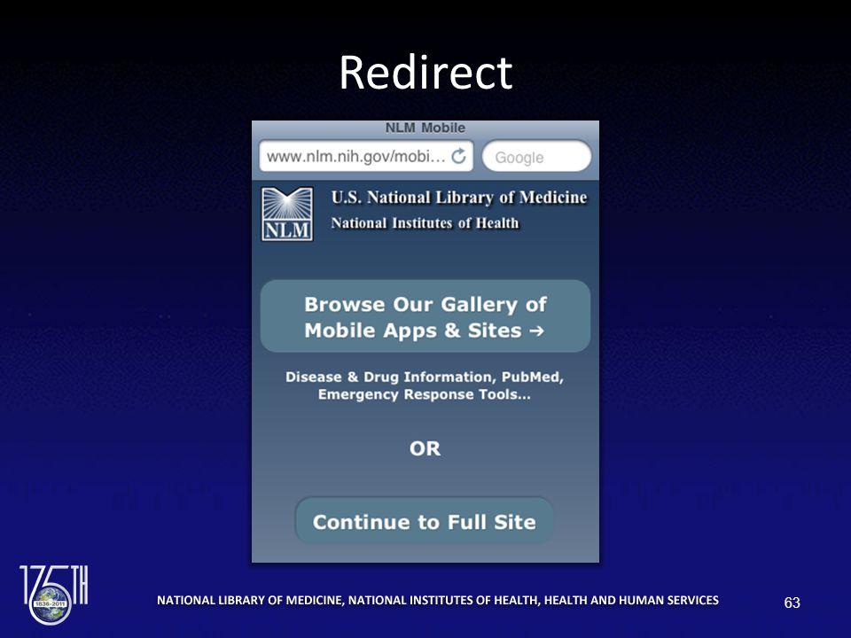 Redirect 63