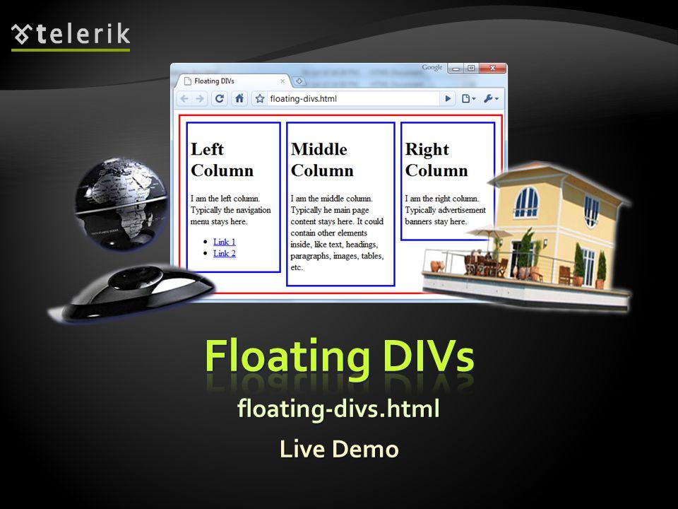 Live Demo floating-divs.html