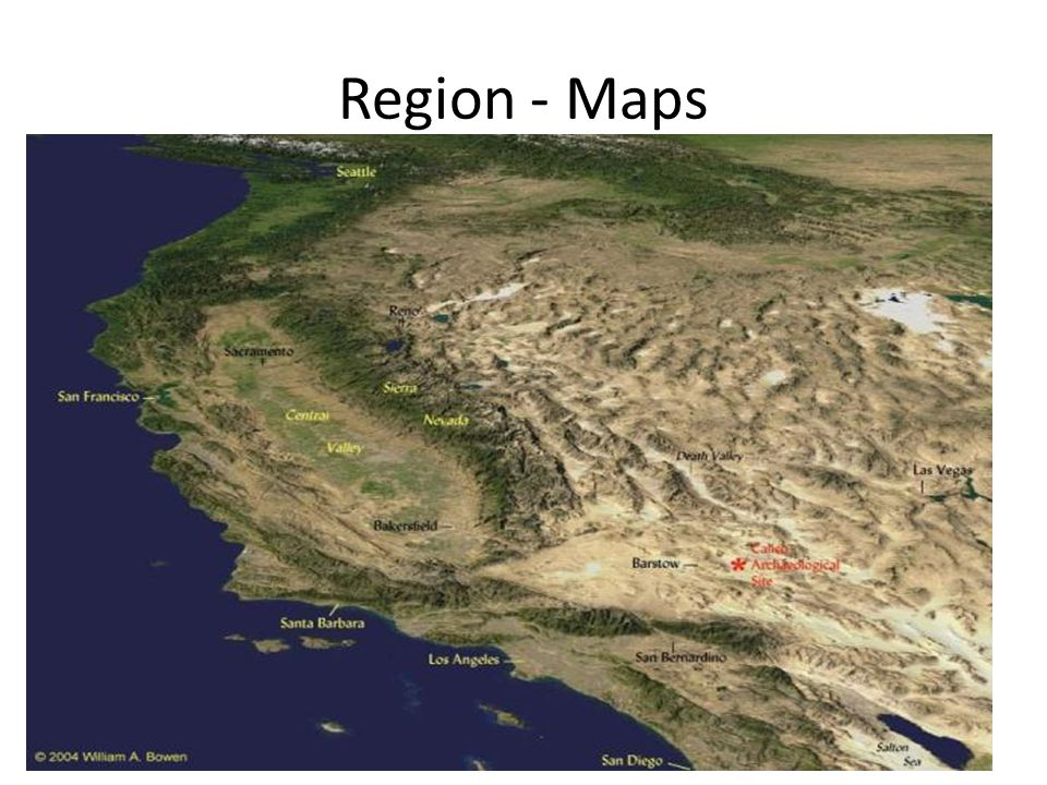 Region - Maps
