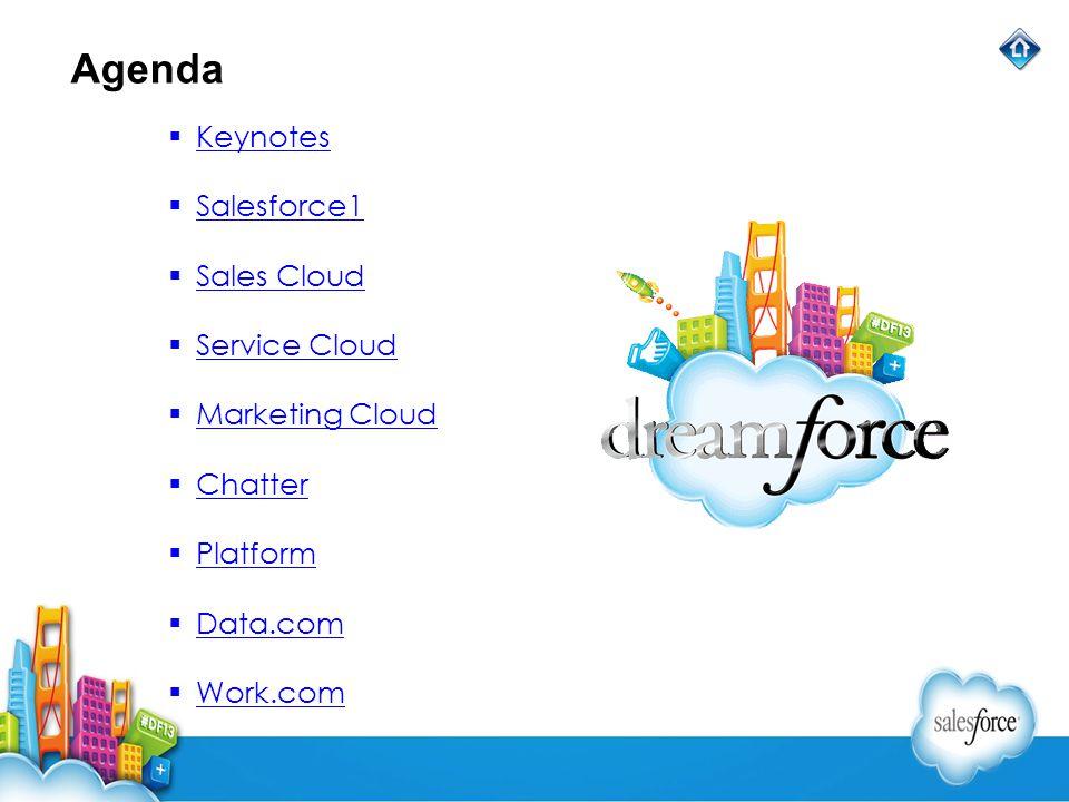 Keynotes All Keynotes Marc Benioff Marc Benioff is chairman and CEO of salesforce.com.