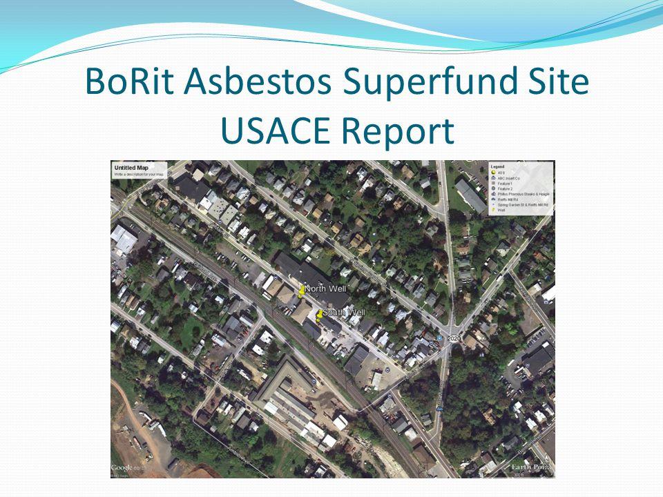 BoRit Asbestos Superfund Site USACE Report