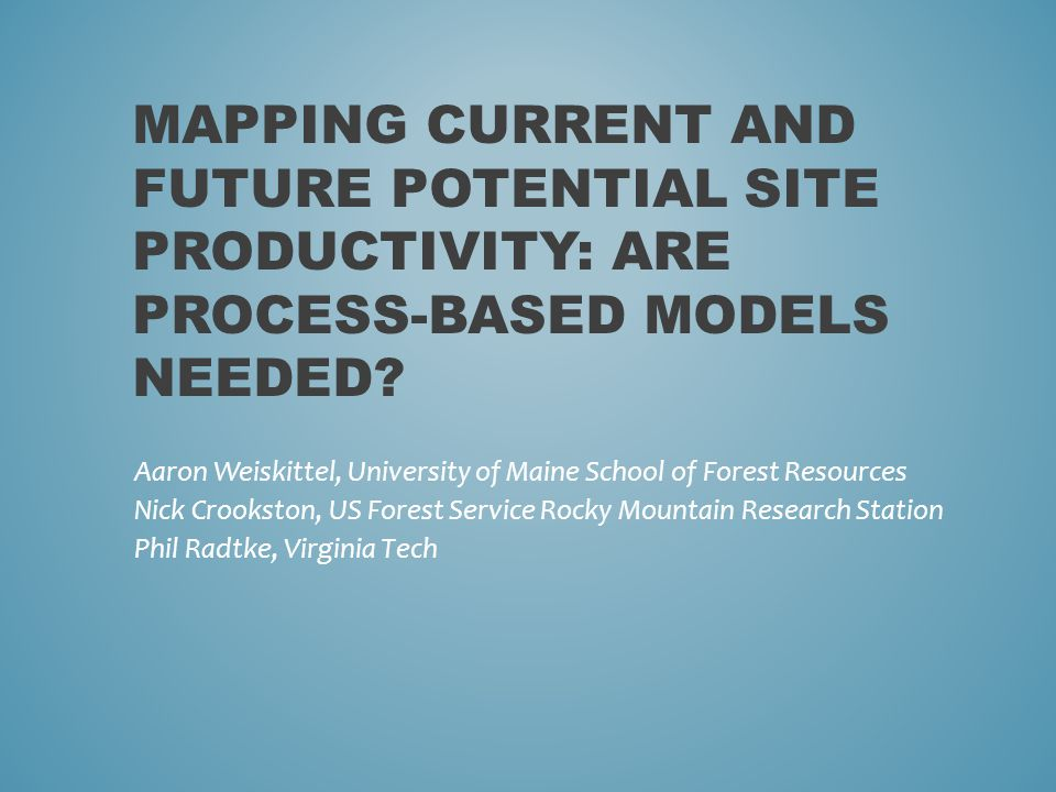Process-model output significantly related to derived climate variables – Is the complexity necessary.