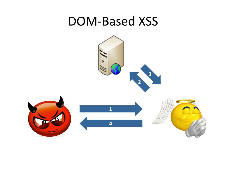 DOM-Based XSS 2 3 14