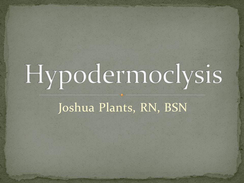 Joshua Plants, RN, BSN