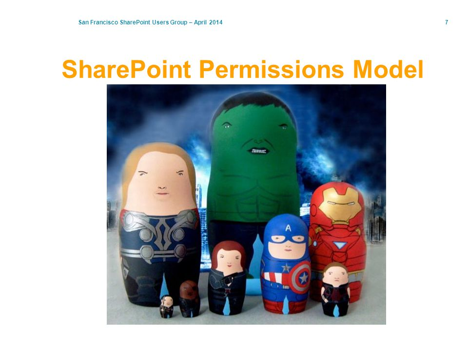 7 SharePoint Permissions Model