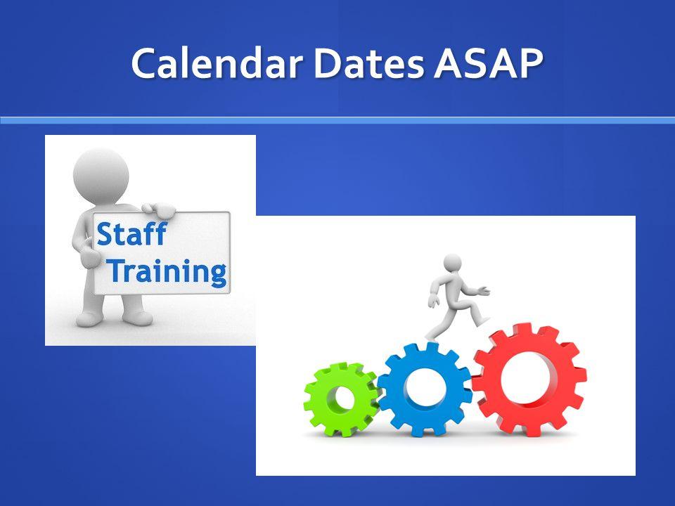 Calendar Dates ASAP