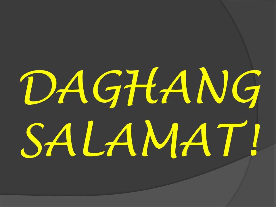DAGHANG SALAMAT!