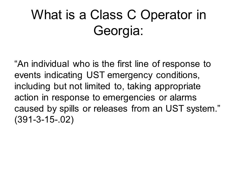 Who is responsible for providing training.