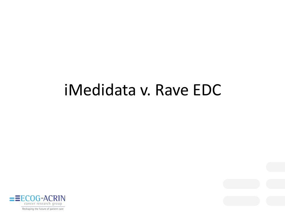 iMedidata v. Rave EDC