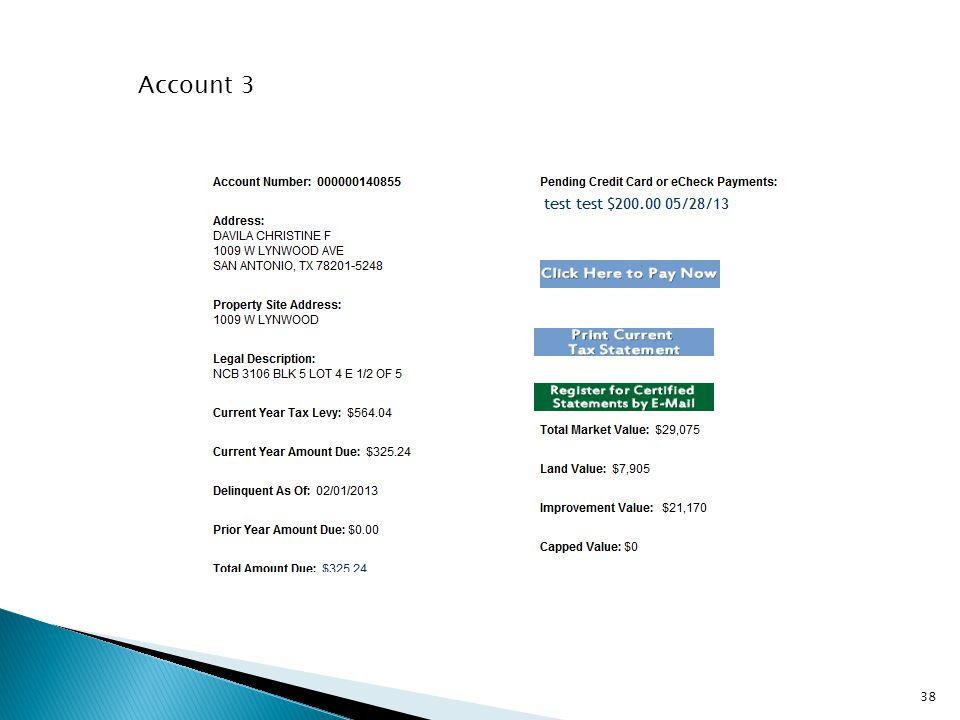 Account 3 38