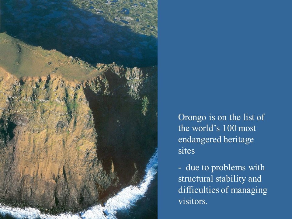 Mata Ngarau - a site within a site - is physically vulnerable and at risk