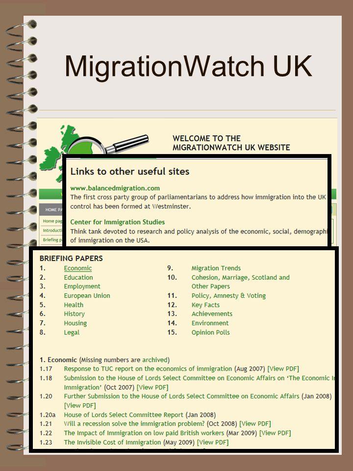MigrationWatch UK