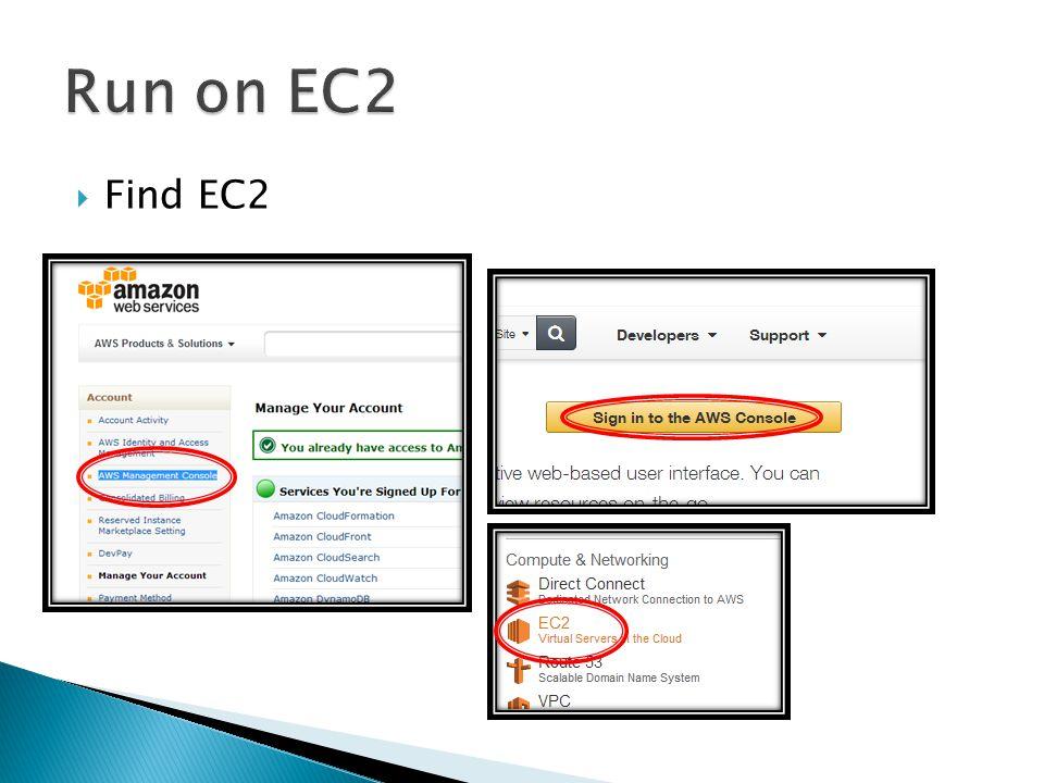 Find EC2