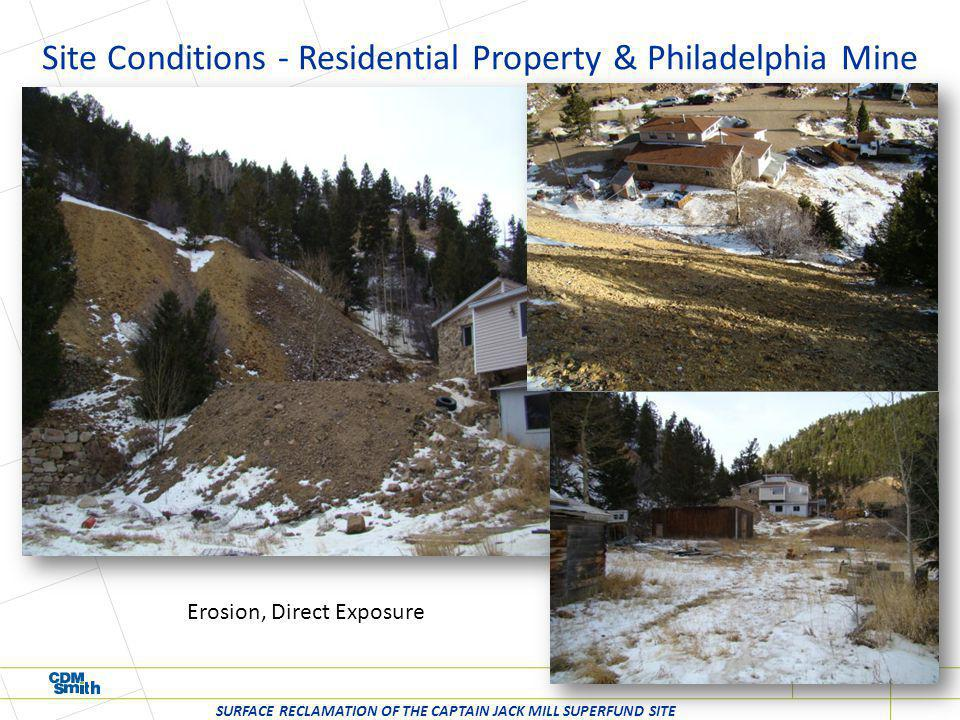 Remedial Action – Big Five Mine Dump SURFACE RECLAMATION OF THE CAPTAIN JACK MILL SUPERFUND SITE Access and runoff controls