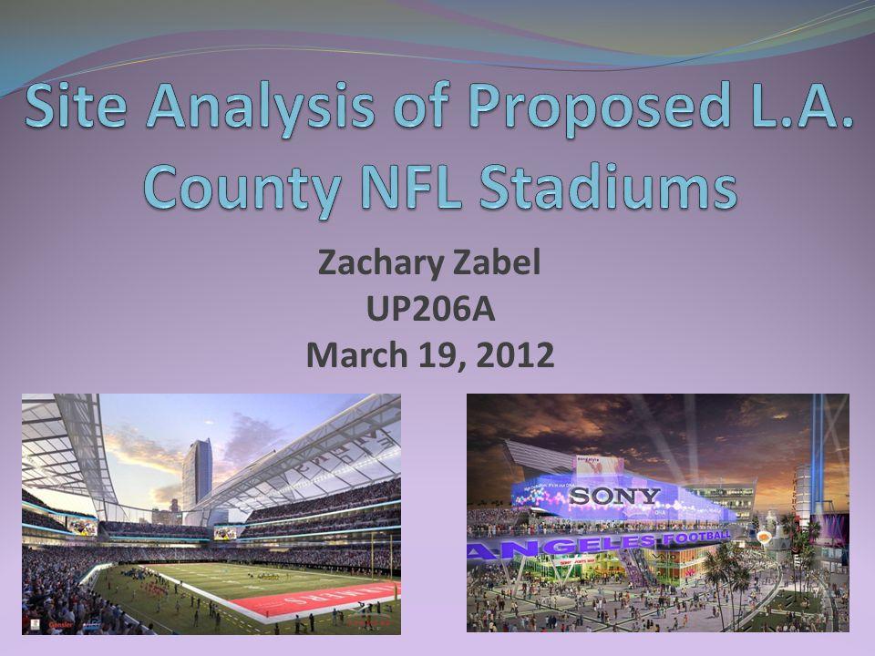 Zachary Zabel UP206A March 19, 2012
