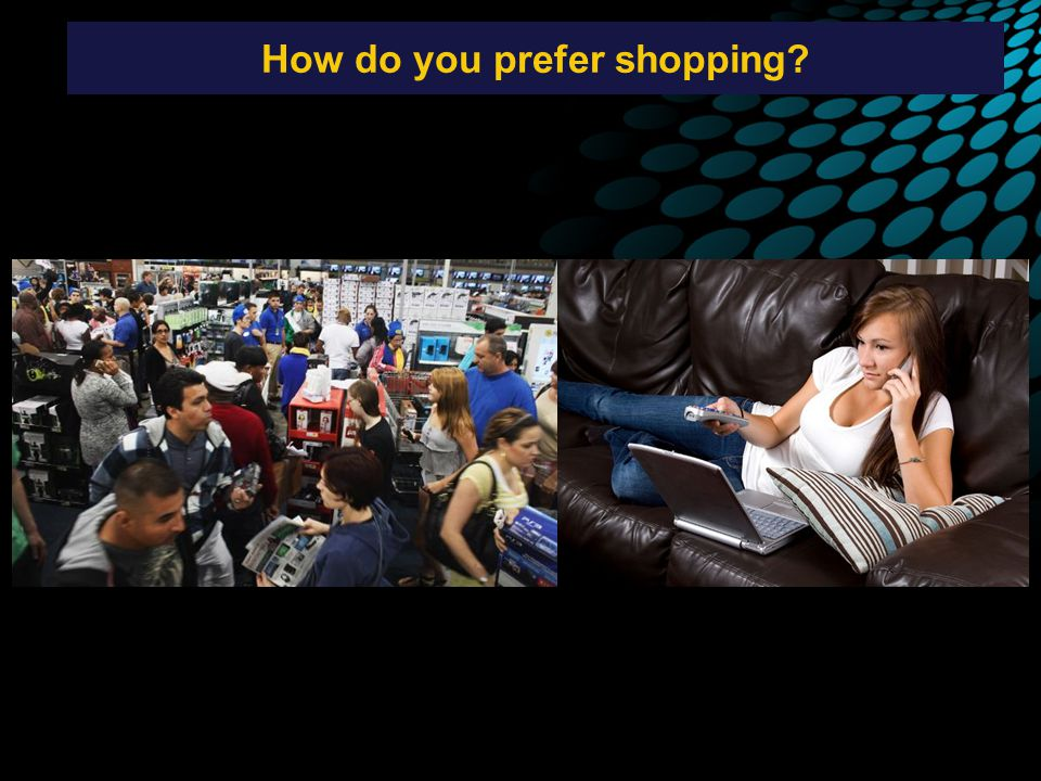 How do you prefer shopping