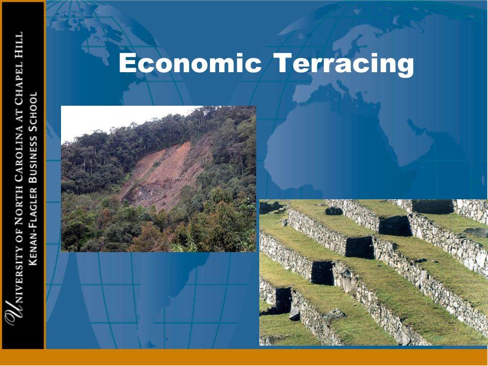 Economic Terracing l External spending l Imports