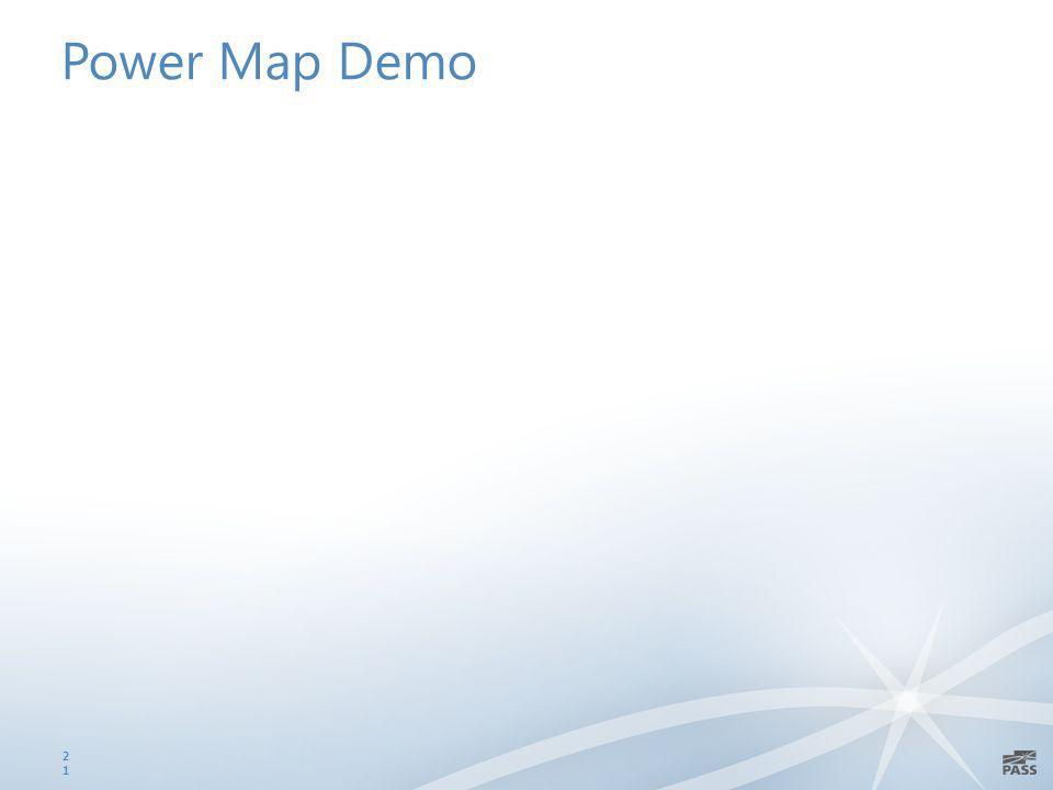 Power Map Demo 21
