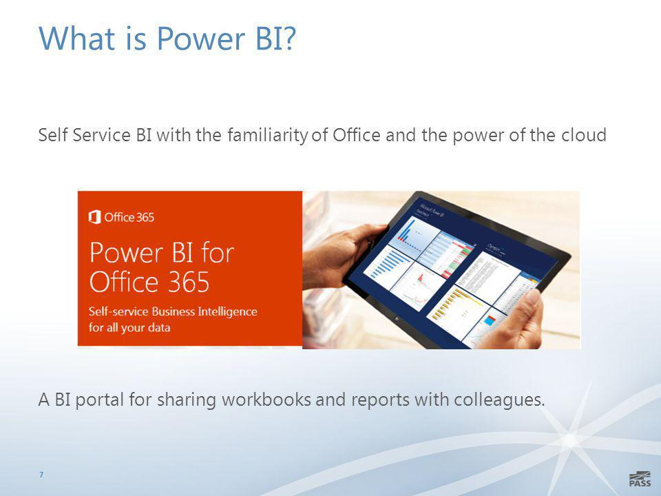 What is Power BI.