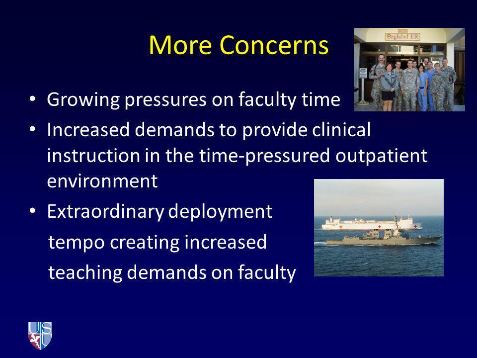 Concerns led to Action Dr.
