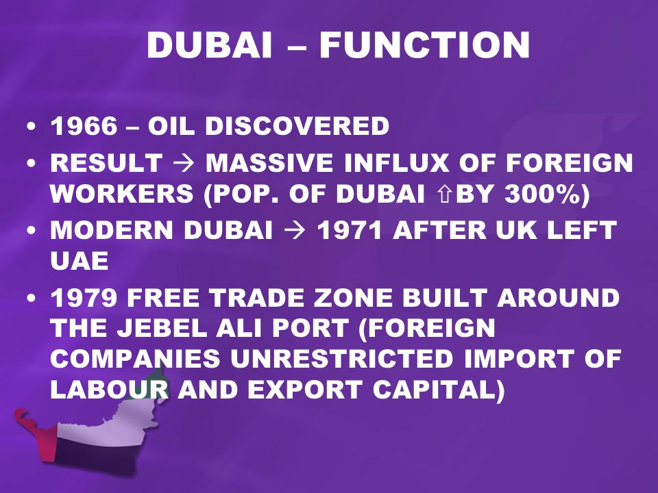 1966 – OIL DISCOVERED RESULT MASSIVE INFLUX OF FOREIGN WORKERS (POP.
