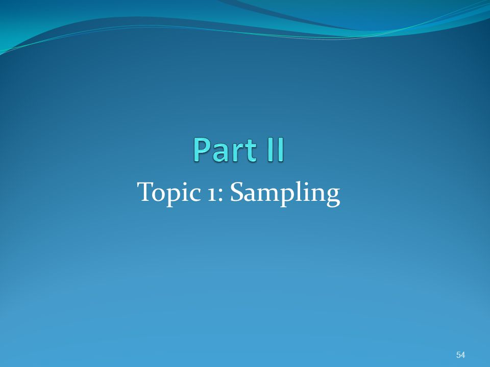 What is the Purpose of Resampling.