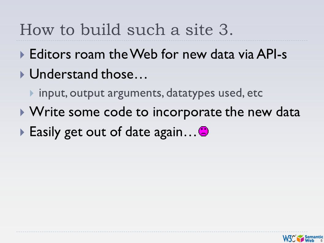 6 How to build such a site 3.