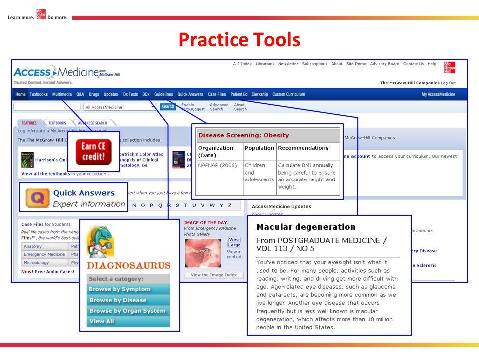 Practice Tools