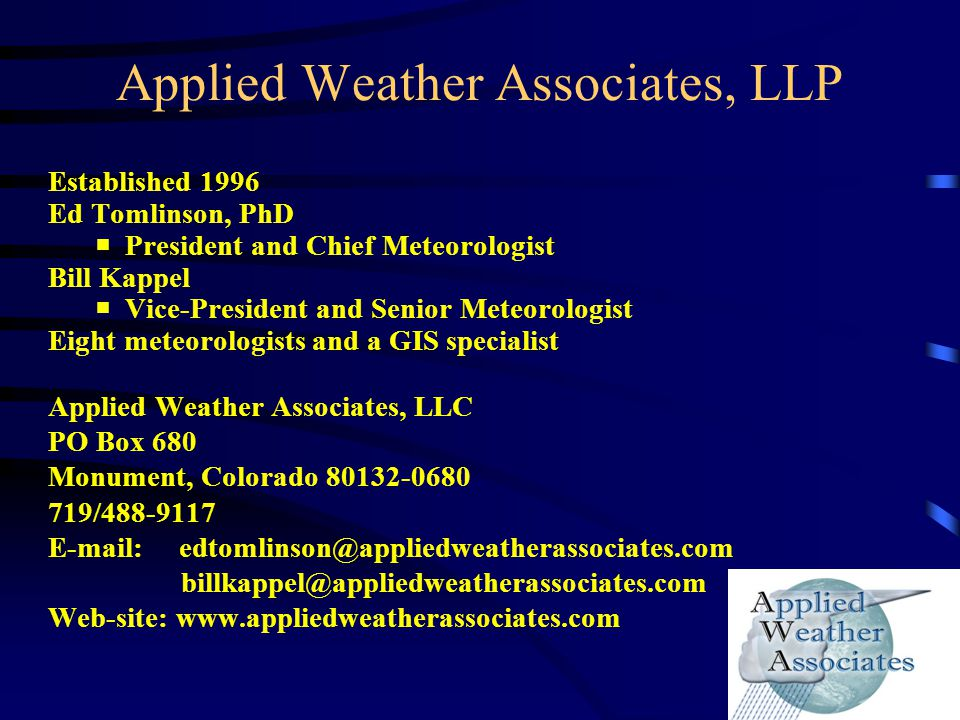 Review the Extreme Precipitation Analysis Tool (EPAT) Site-specific PMP (SSPMP) studies became leading method to determine PMP 1995-2005 SSPMP studies –Procedural inconsistencies –Outdated methods –Needed updated storm library –Did not incorporate advances such as updated maximum dewpoint climatologies –Did not include Doppler radar Developed to use explicit storm transpositioning –No discussion on use of the Storm Separation Method Envisioned to provide a new standard of practice –Include new science Climate change not included –…climate is changing…the quantification of future climate change is still not refined enough to enable inclusion in deterministic PMP techniques