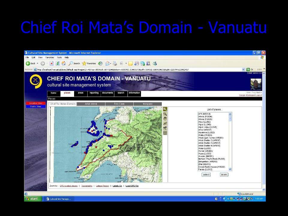 Chief Roi Matas Domain - Vanuatu