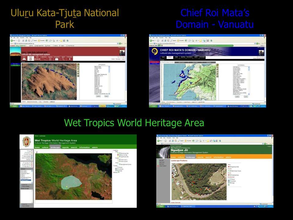 Uluru Kata-Tjuta National Park Chief Roi Matas Domain - Vanuatu Wet Tropics World Heritage Area